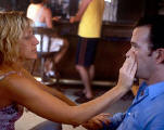 Edie Falco as Marly Temple and Timothy Hutton as Jack Meadows in Sunshine State