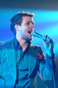 The Killers at Oxegen 2004