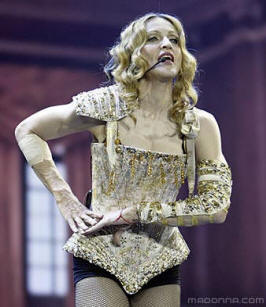 Madonna in Shakespeare gear