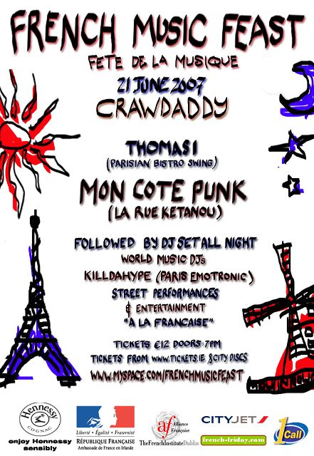 CLUAS | Blogs | French Letter - 21 June: France's national music day