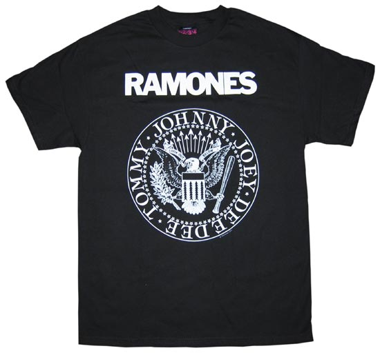 Cluas blogs sound waves the ramones all about the t for How to make money selling custom t shirts